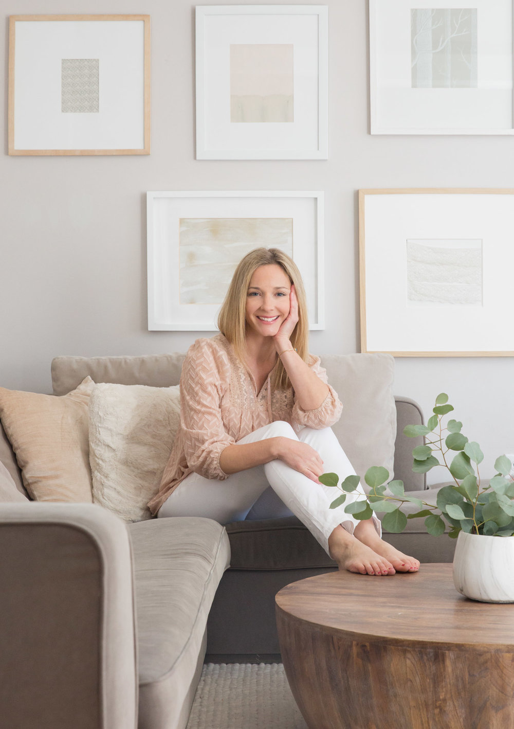 Vancouver based designer and blogger Melissa Barling from WINTER DAISY Interiors