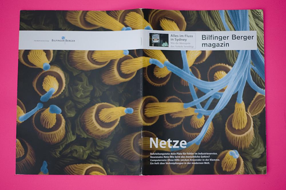 Corporate Publishing . Bilfinger Berger Magazin / Netze