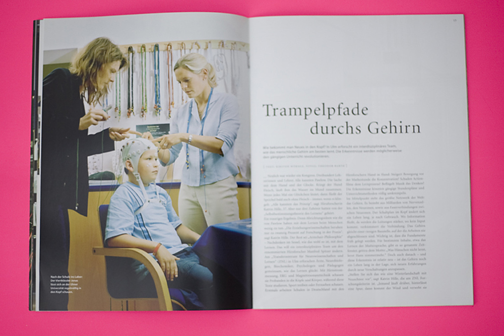 Corporate Publishing . Bilfinger Berger Magazin / Netze