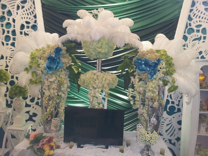 Azalia Decoration booth during Shangri-La expo