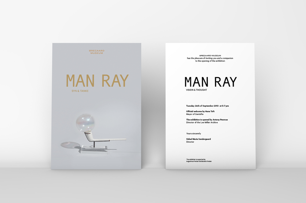 Man Ray Benjamin Wernery Graphic Design