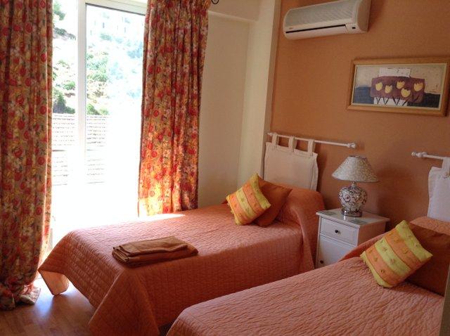Terracotta bedroom