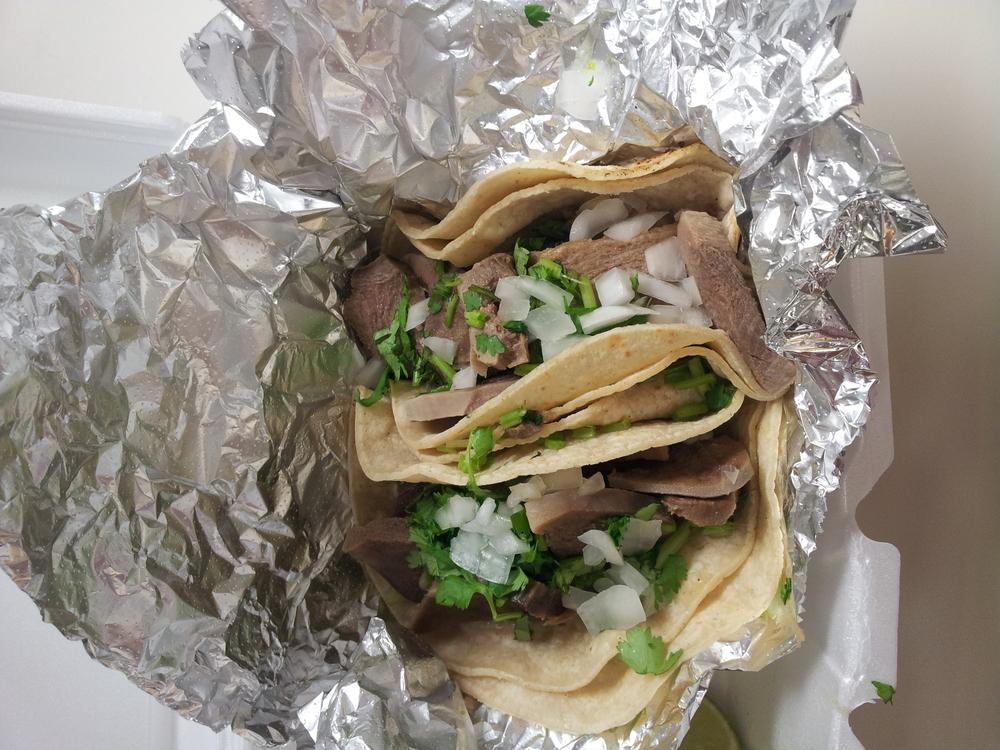 Tacos de Lingua