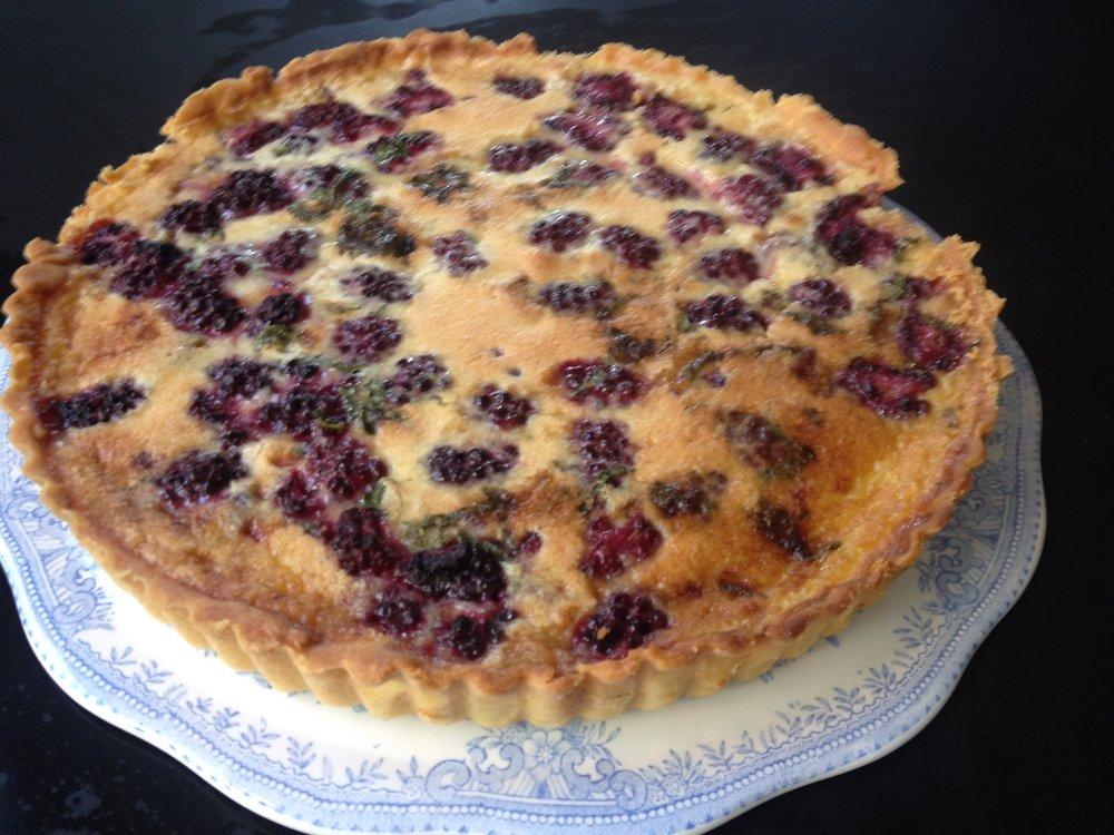 blackberry and french cream tart.JPG