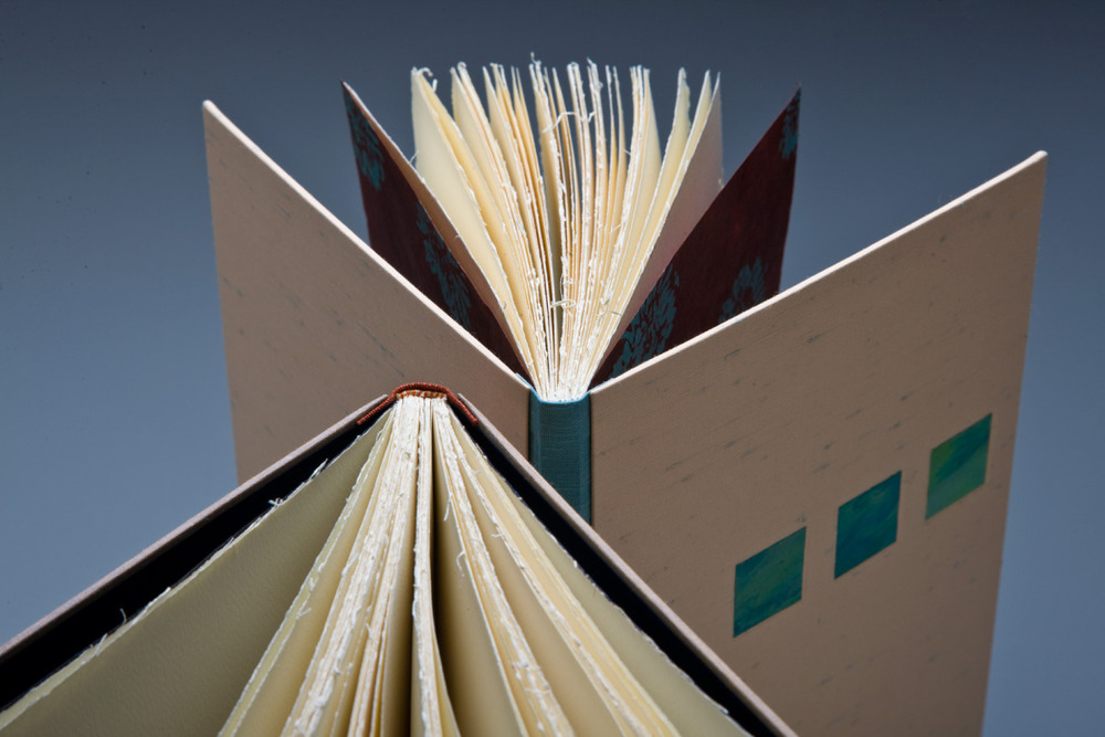 Blank journals (detail), Kelly O'Brien, 2009