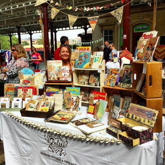 Susan Whitelock, Pulp Paper Heaven, Bath Artisan Market