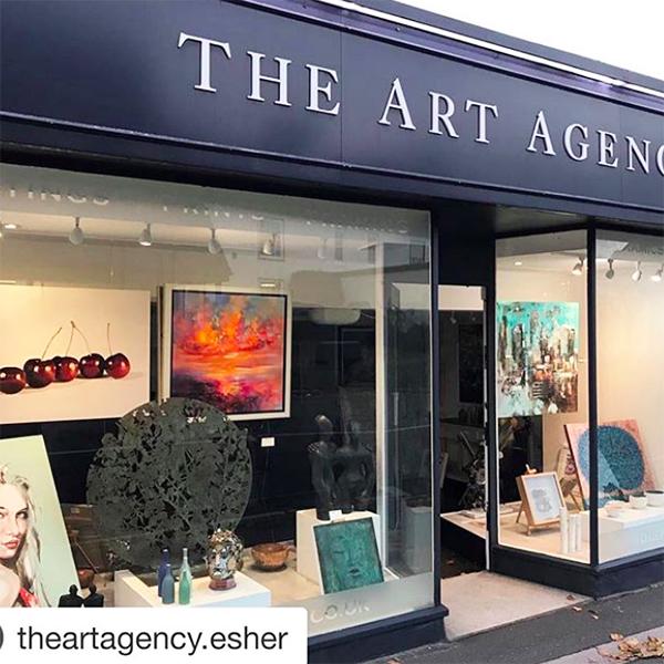 The Art Agency, 118 – 120 High Street, Esher, Surrey KT10 9QJ. (Image: The Art Agency)