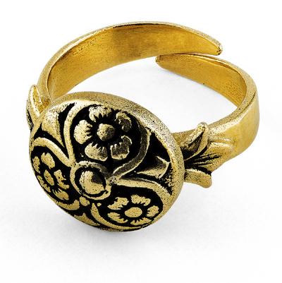 """Ring """"Knapp"""" til Løkenbunaden"""