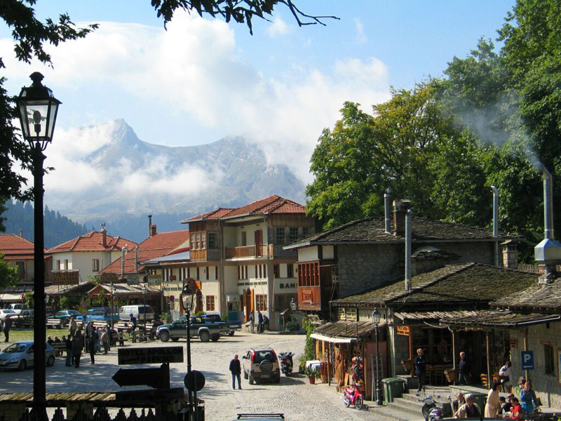 The heart of Metsovo