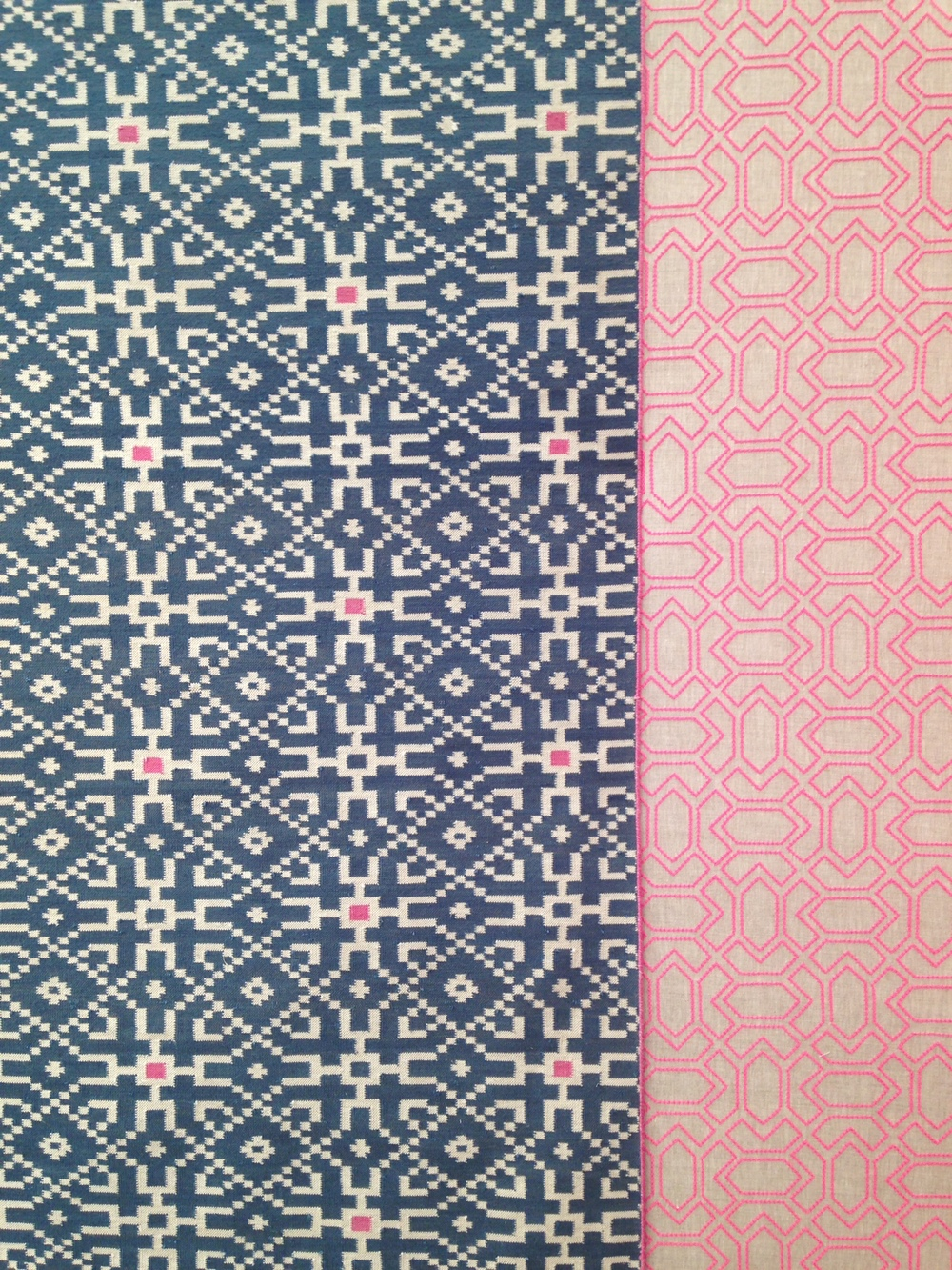 Wonderful Vanderhurd fabrics. May suggest to a current client with plans for a Mexican/Moroccan feel