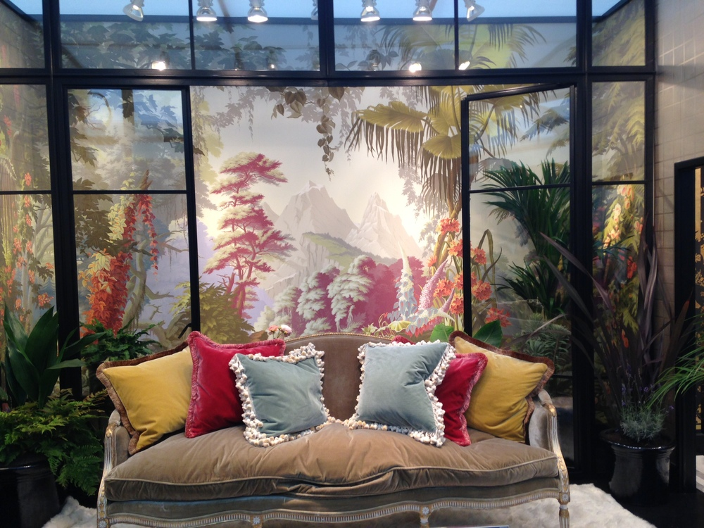 De Gournay's lovely set piece