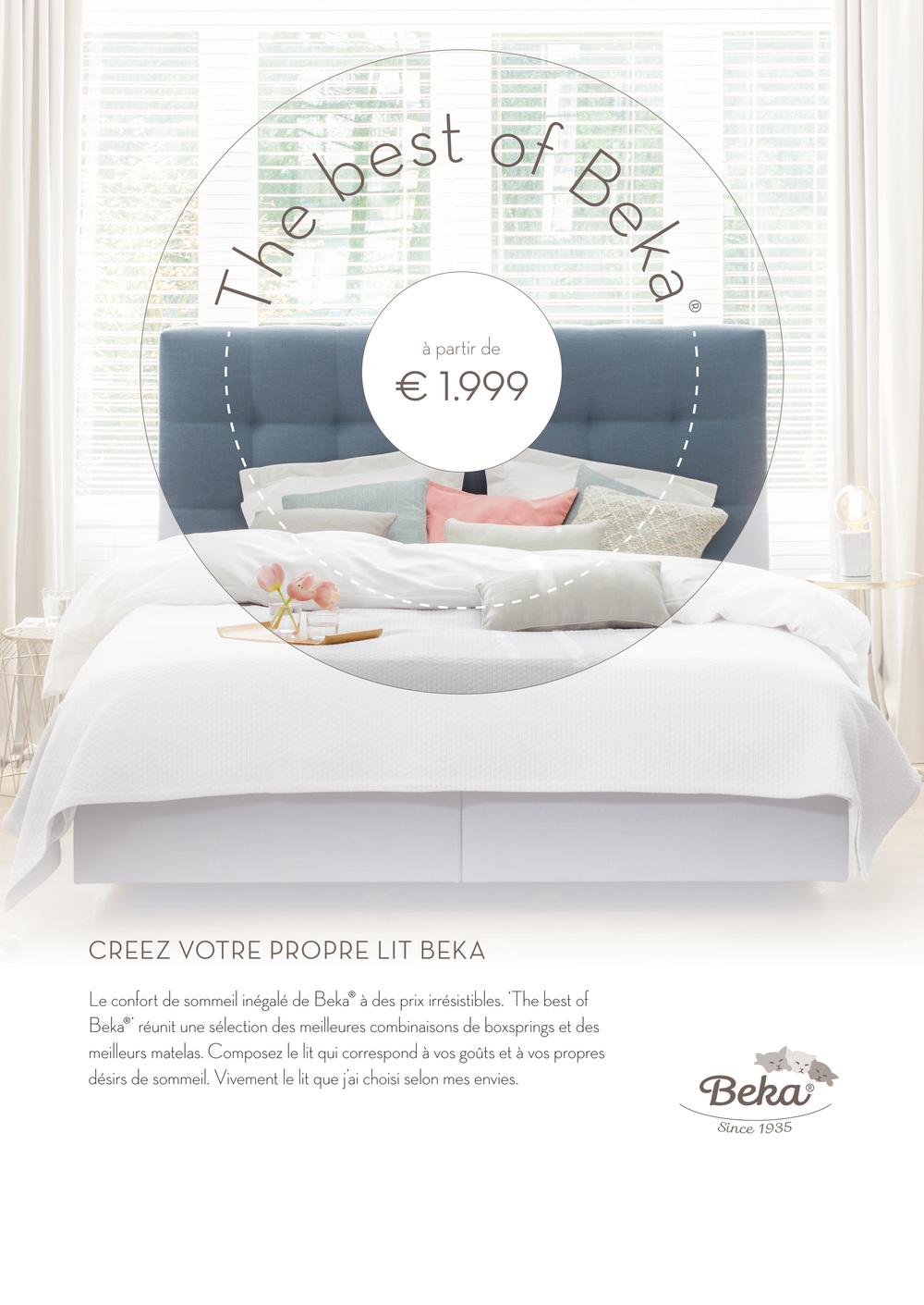 Créez votre propre lit Beka.