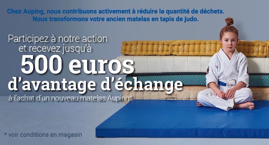 Profitez de notre action Auping à Strassen. Recevez 500 euros d'avantage!