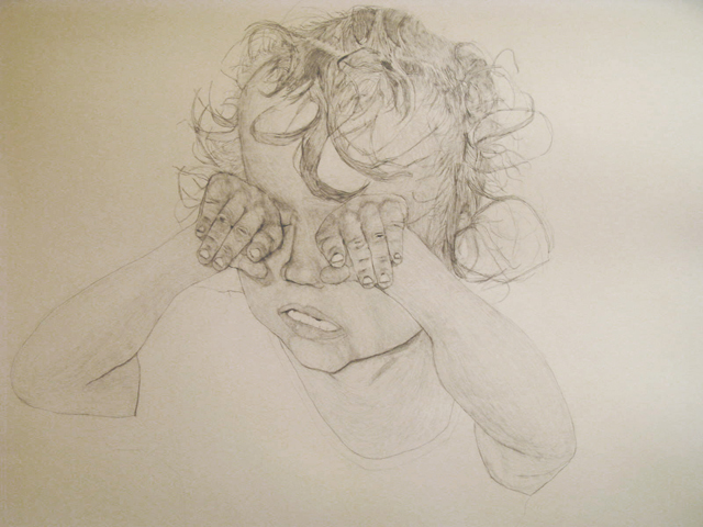 pencil drawing on paper, 2008