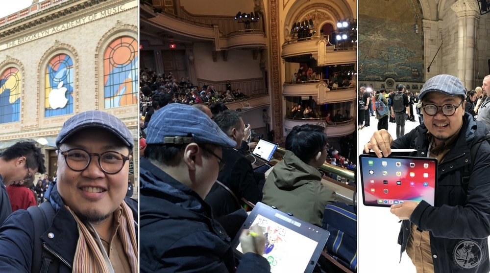 After many years of following events like these online, it was such a thrill to be invited to experience an Apple launch, live!