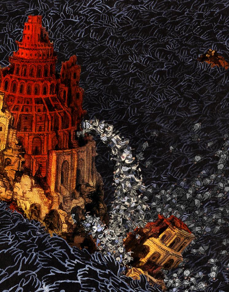 The Transience of Power Jonny Glover Illustration