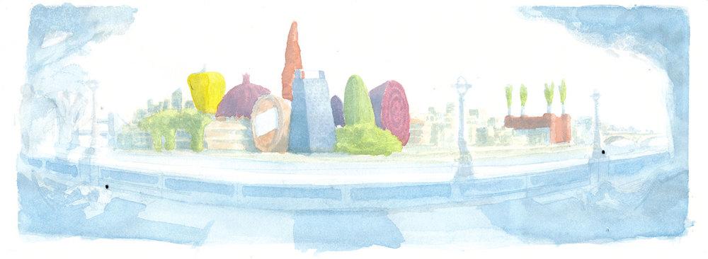colour sketch