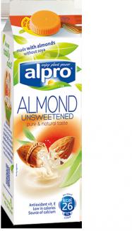 Alpro unsweetened Almond Milk