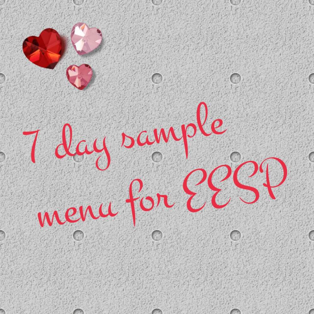 7 Day Extra Easy Sp Plan Slimming World Survival