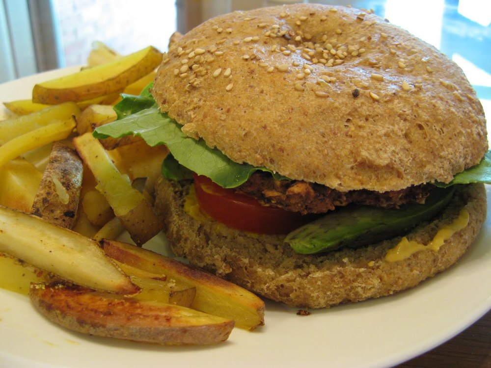 Slimming world burger.JPG
