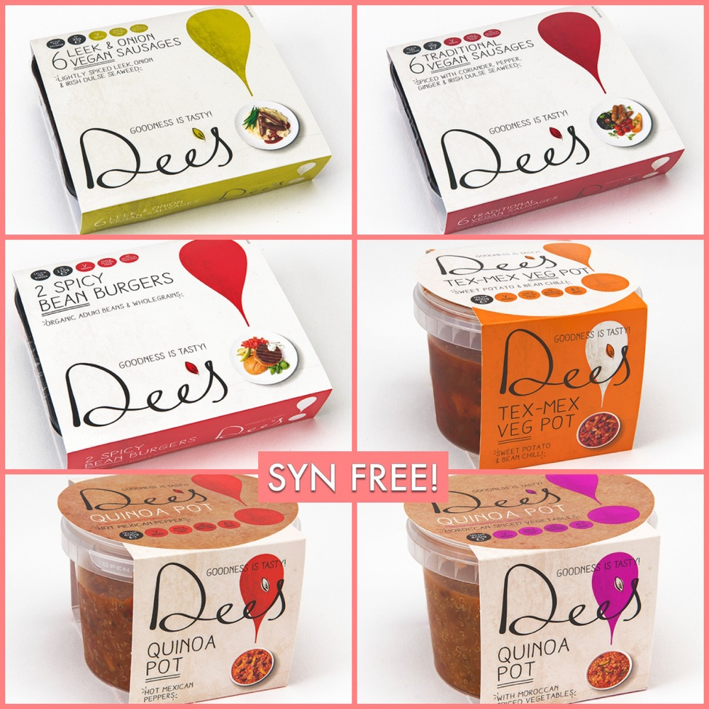 Dee 39 S Vegan Syn Free Foods Review Competition To Win A Hamper Slimming World Survival