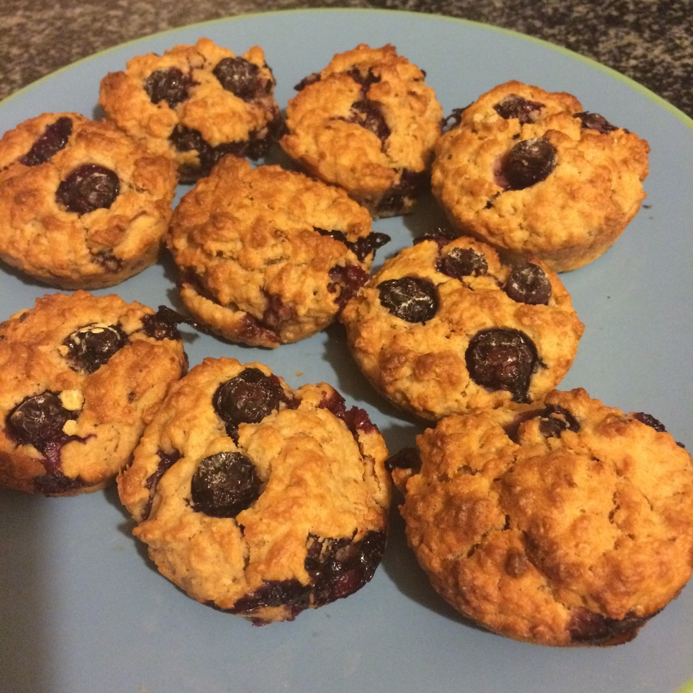 Slimming World Blueberry Muffins