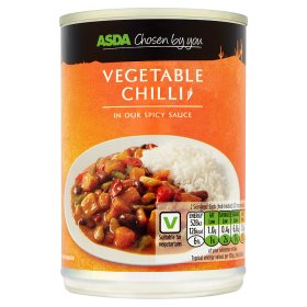 Asda Chosen By You Vegetable Chilli