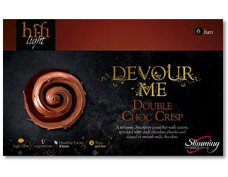 Buy slimming world double choc crisp hi-fi bar online