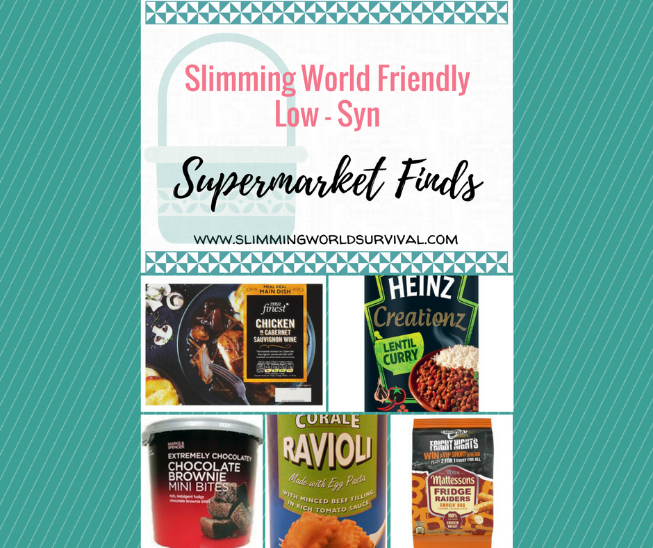 Low syn supermarket finds slimming world survival Slimming world syns online
