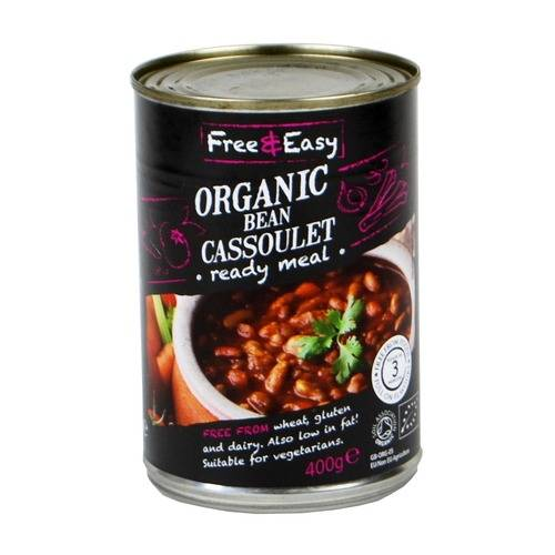 Free and Easy Bean Cassoulet