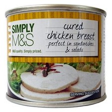 M&S cured chicken breast