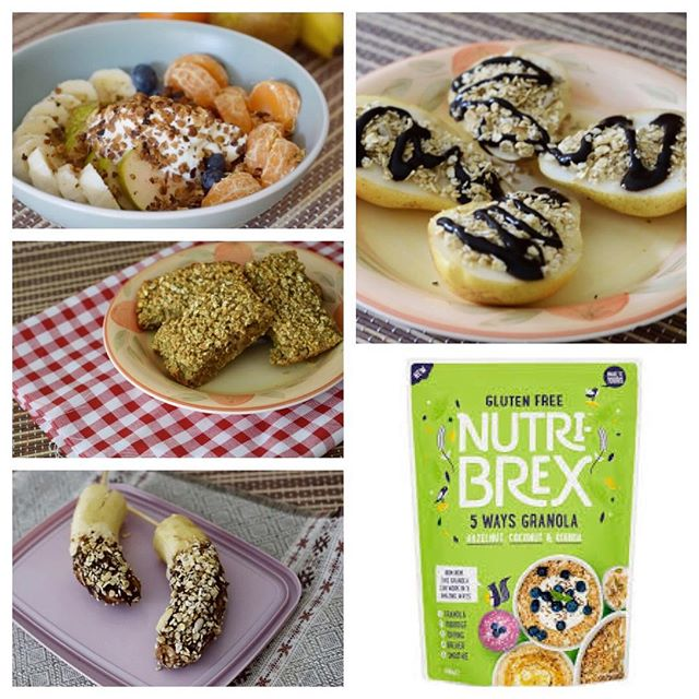 In honour of #betterbreakfastday check out my post on 5 different ways to use #Nutribrex Granola with slimming world. Link to the post in bio. @nutribrex #5wayschallenge #spon #sp #healthyextra #slimmingworld #lowsyn #lowsyntreats