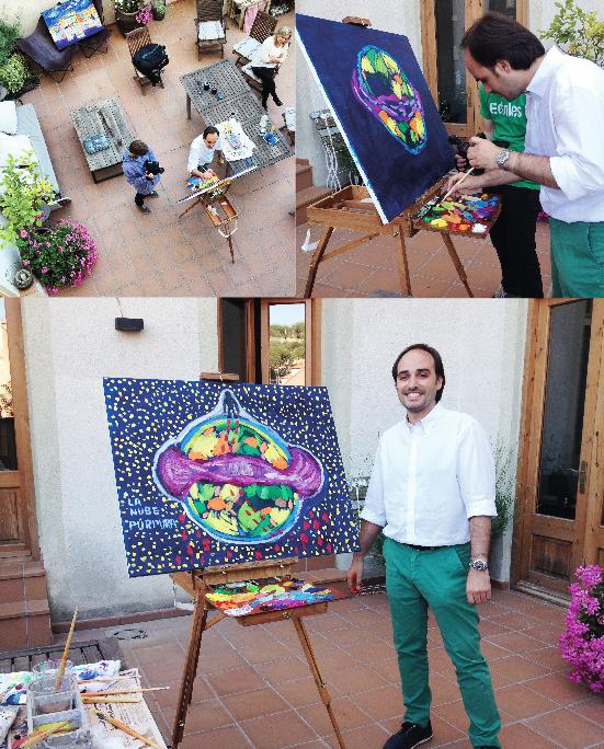 Colaboración de Ignasi Miralbell Riera con Página 2 de RTVE, para la Nube Púrpura