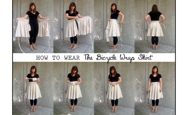 Magic Wrap Skirt How To Tie Part 1