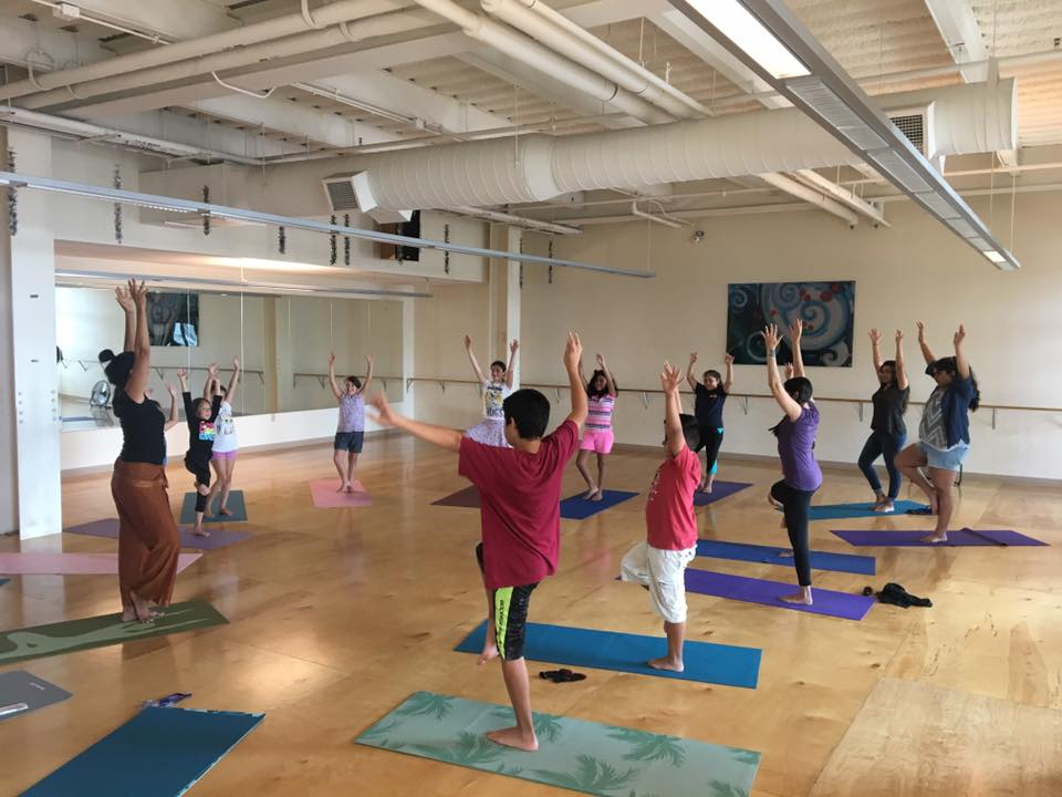 Help support children's yoga classes!