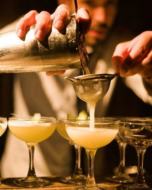 TBT - five years ago today. Create:Eat Project #1 Cocktails.  #createeat #trinityapse #collaboration #firsts #experientialdining #collaborativedining #edinburgh #popup #hendricksgin