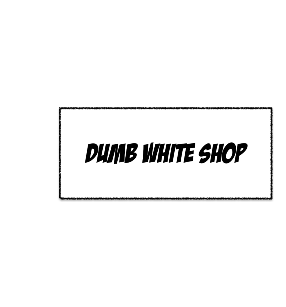 dumb white shop logo.png