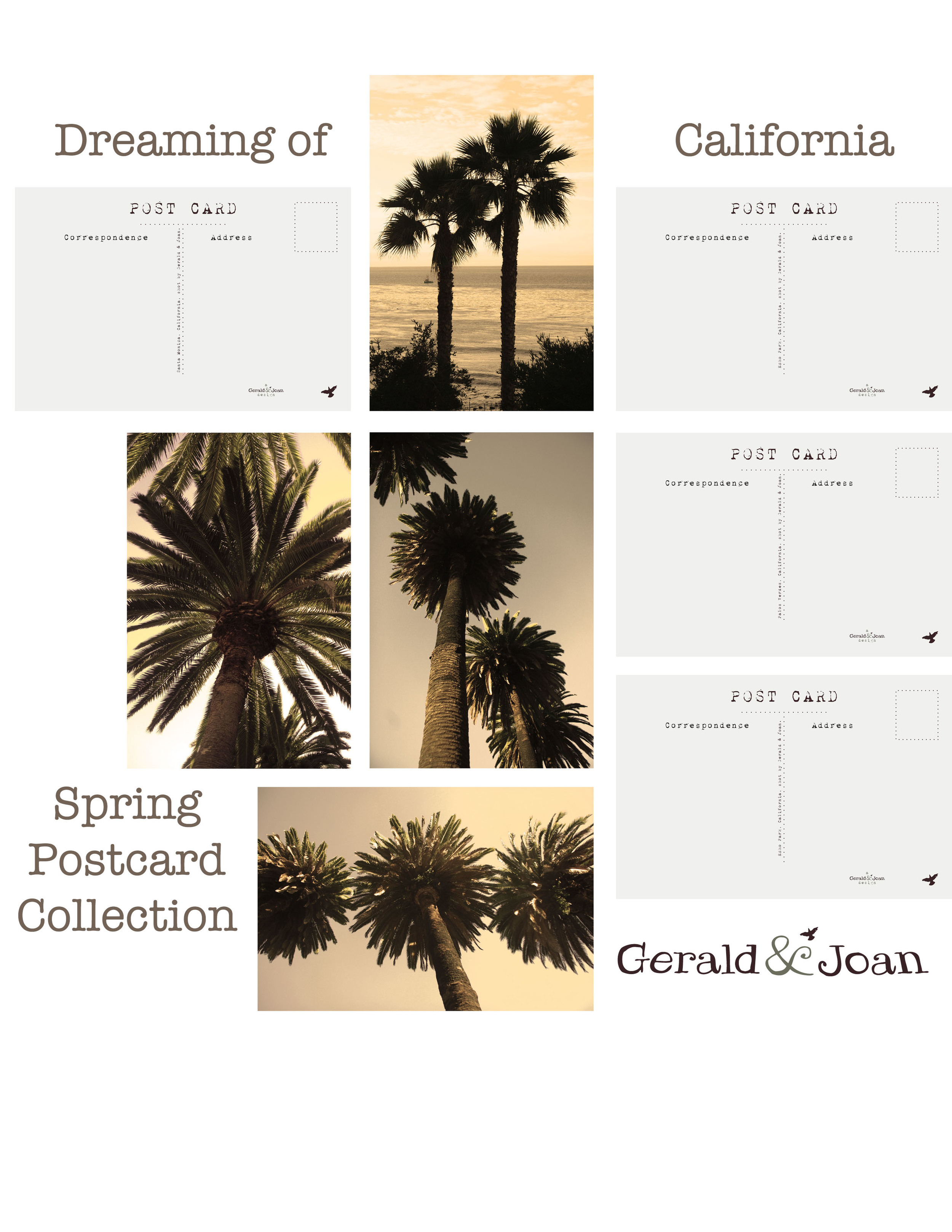 Springpalmpostcards