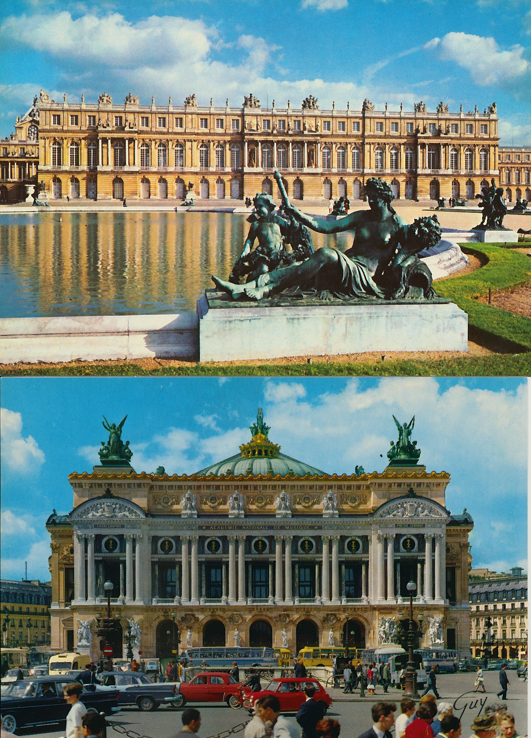 versailles and the paris opera