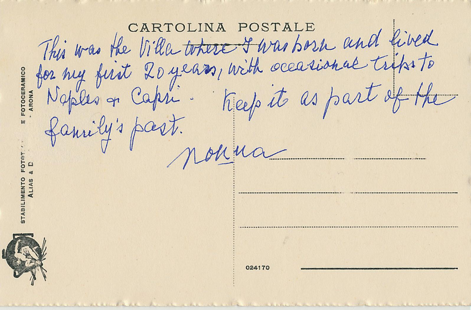 postcardfromNonna