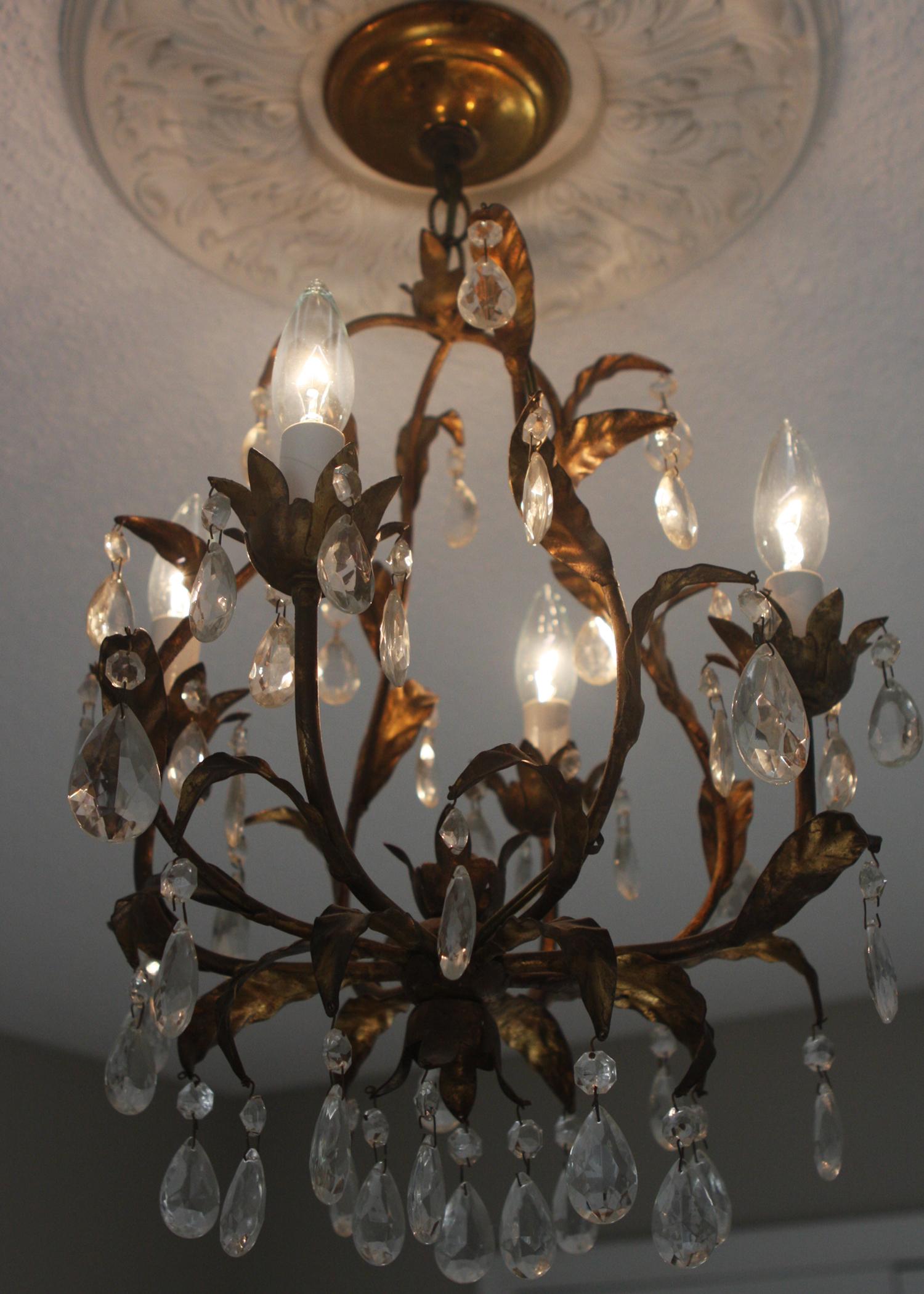 vintage chandelier 2