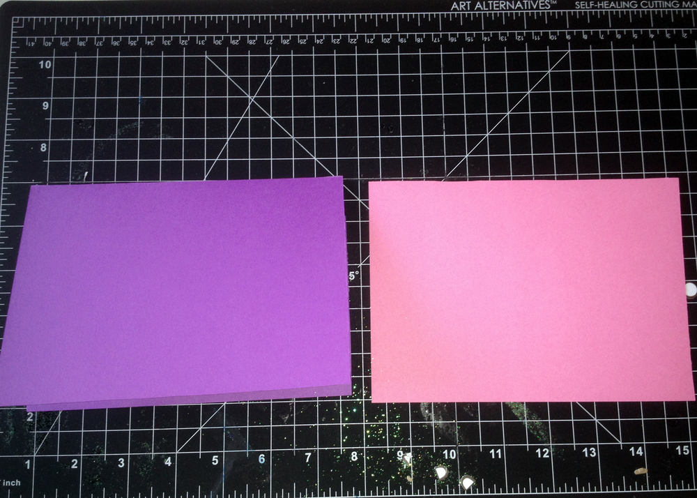 Princess card step 2