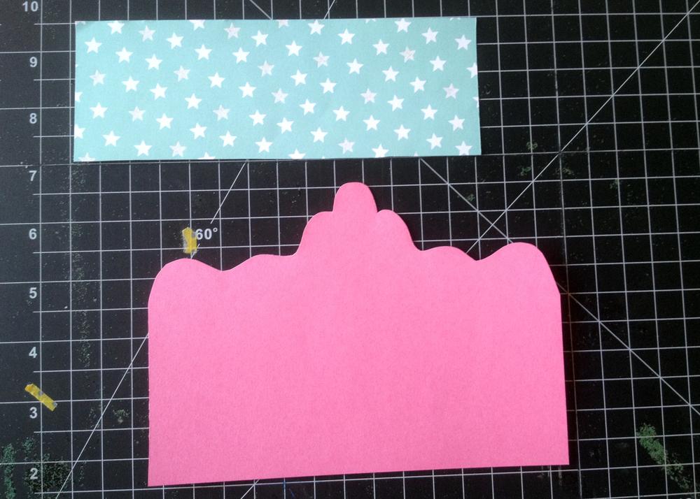 Princess card step 4
