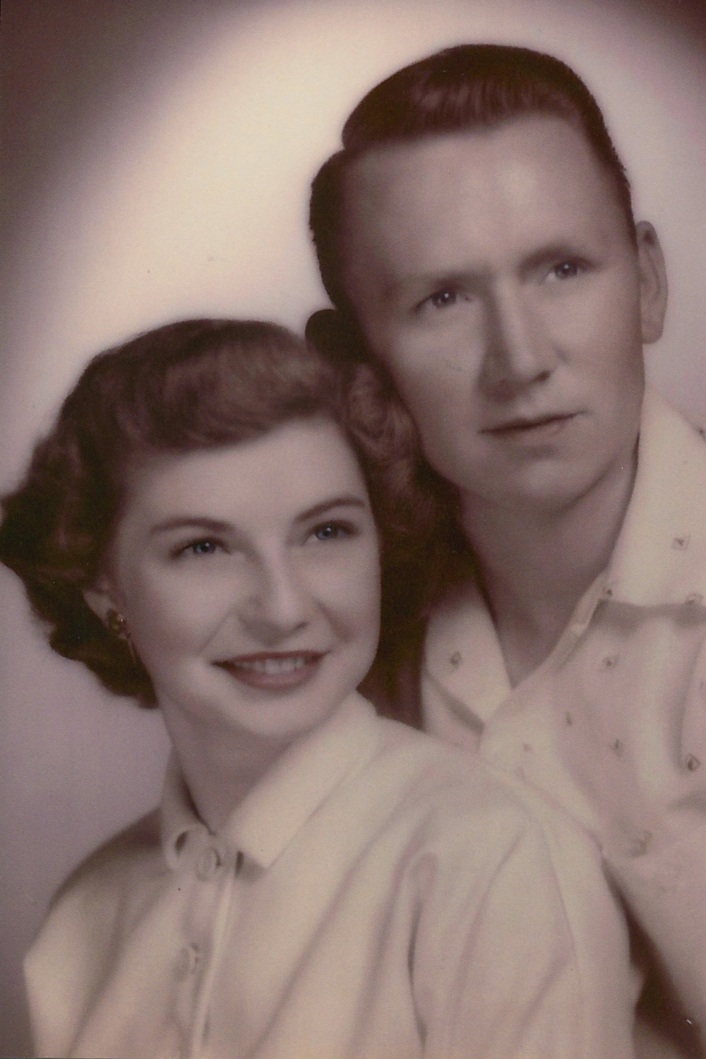 Gerald and Sadie Hardin in June 1953.