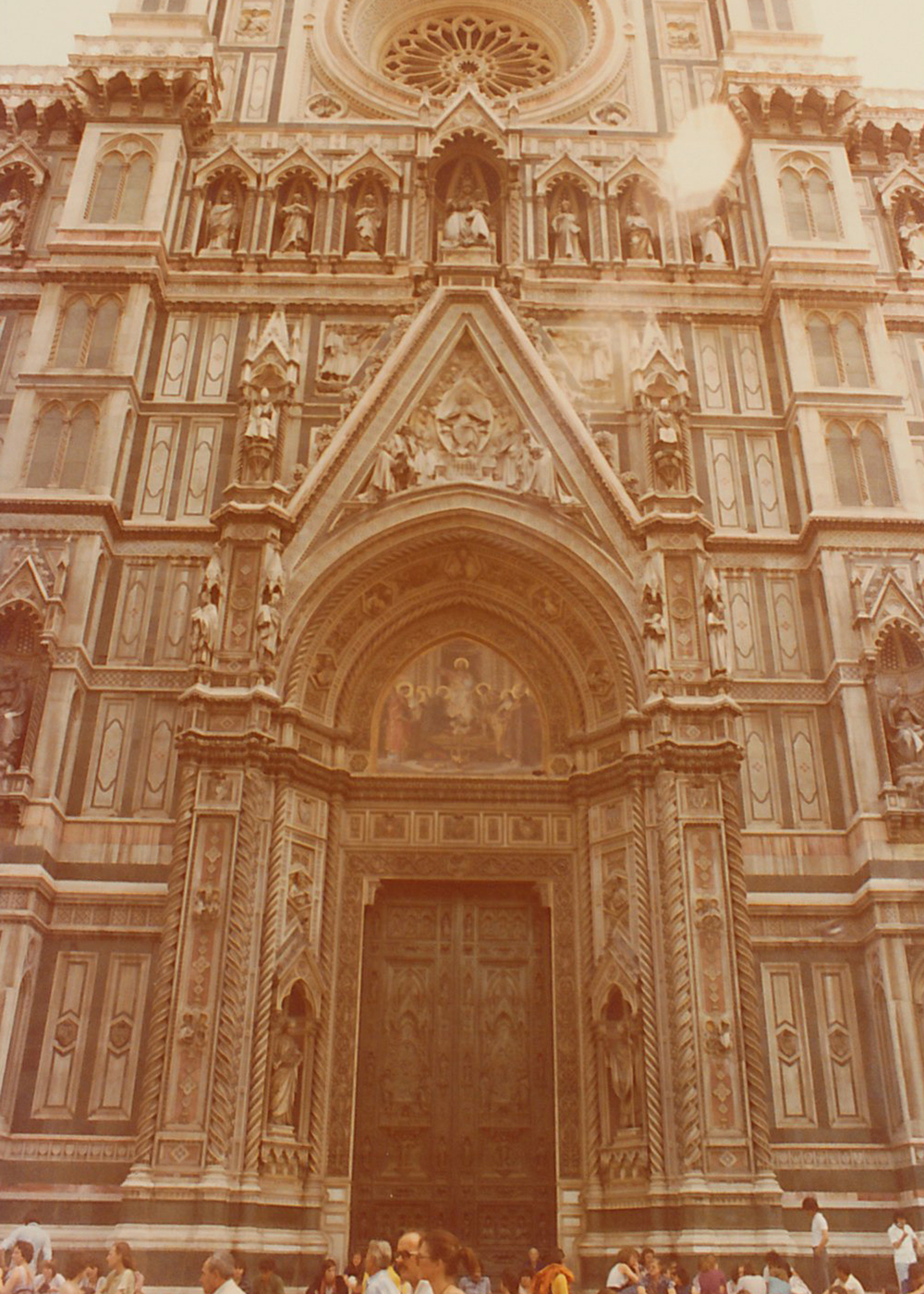 The beautiful Duomo in Florence, Italy.