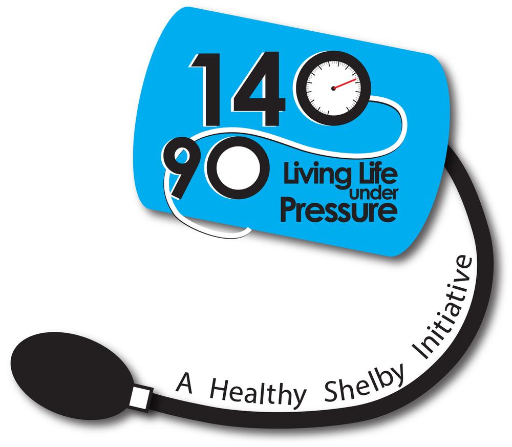 140/90 Living Life Under Pressure logo