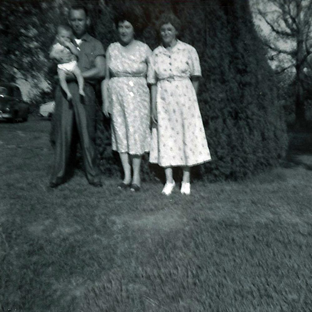 Gerald, Greg with his mother Elzie.
