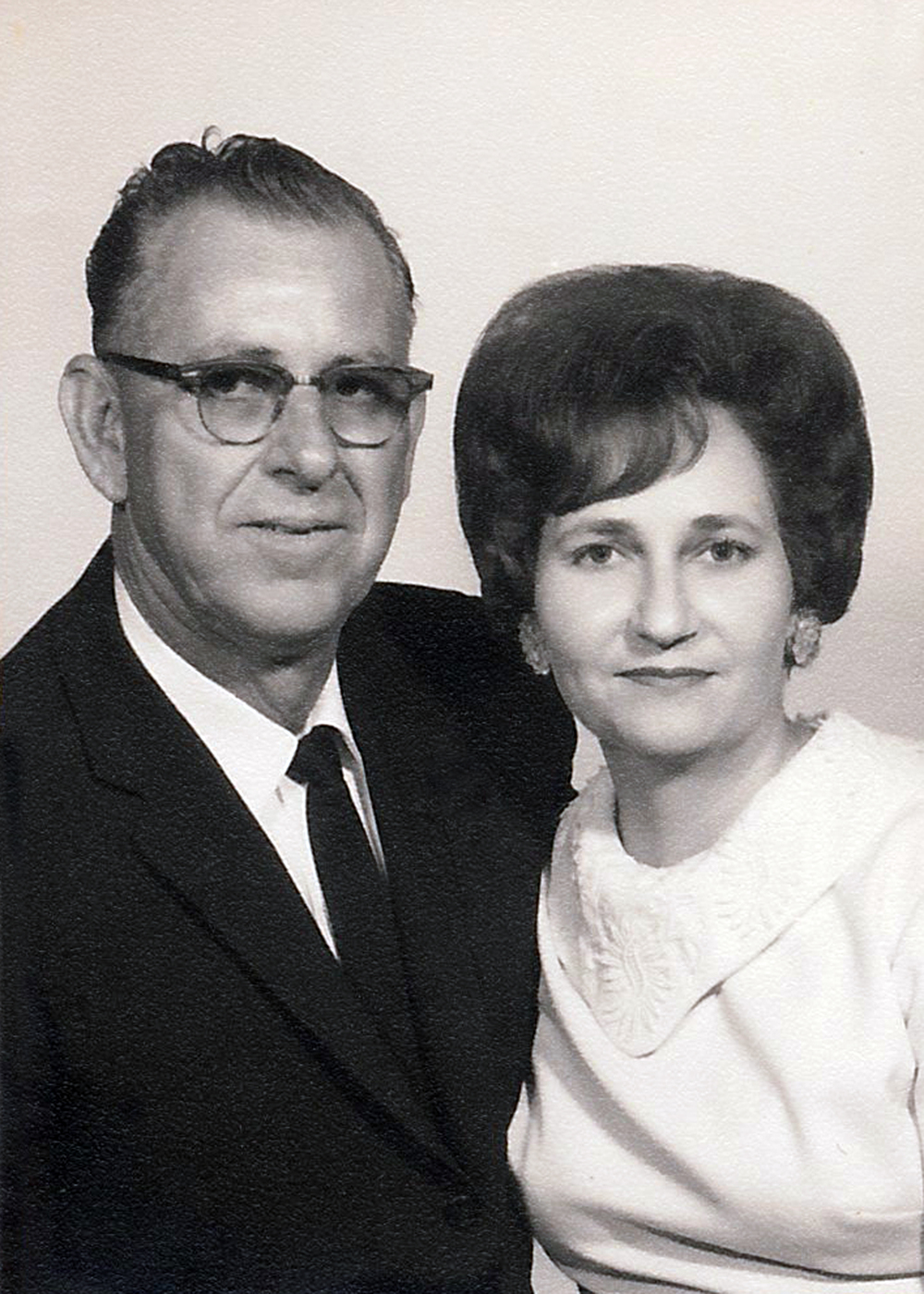 Clovis and Arletta Geno , Denise's parents.