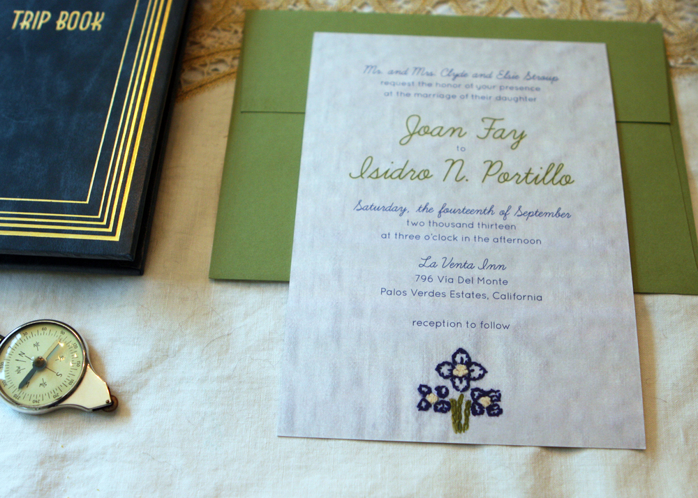 Joan Invitation
