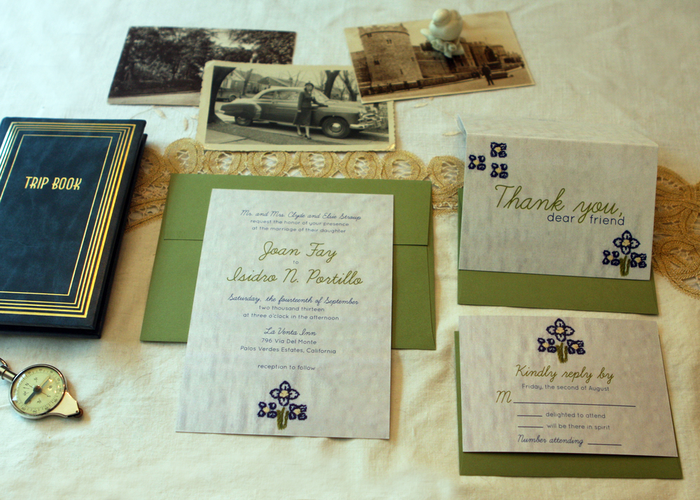 Joan Invitation Suite